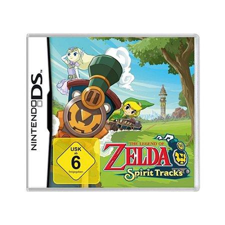 Jogo The Legend of Zelda: Spirit Tracks - DS (Europeu)