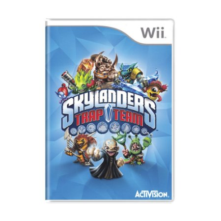 Jogo Skylanders Trap Team - Wii