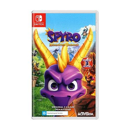 Jogo Spyro Reignited Trilogy - Switch