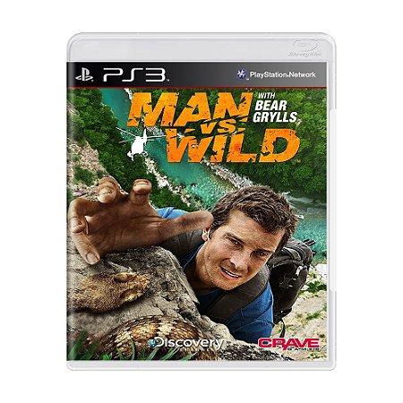 Jogo Man vs. Wild with Bear Grylls - PS3