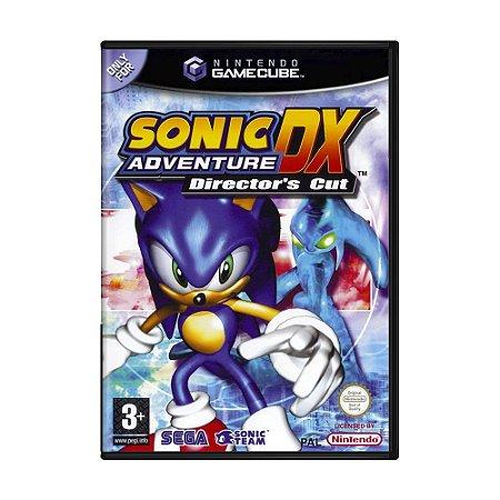 Jogo Sonic DX Adventure: Director's Cut - GameCube (Europeu)