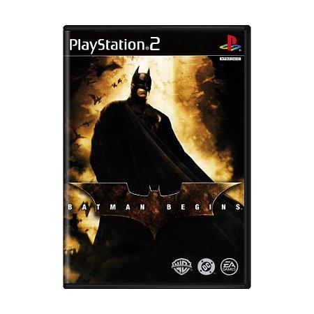 Jogo Batman Begins - PS2