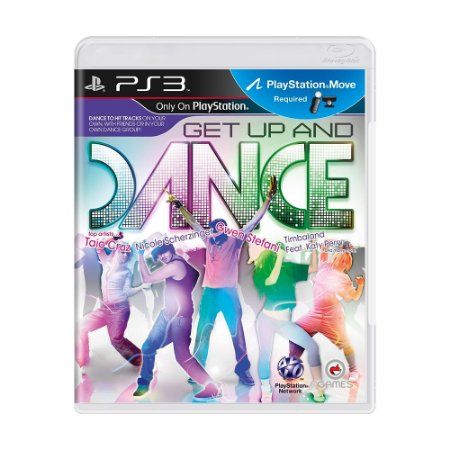 Jogo Get Up and Dance - PS3