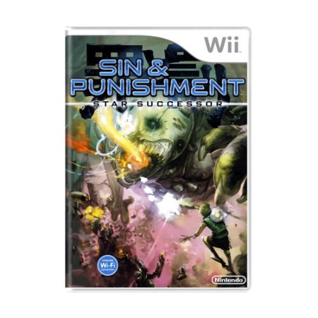 Jogo Sin & Punishment: Star Successor - Wii