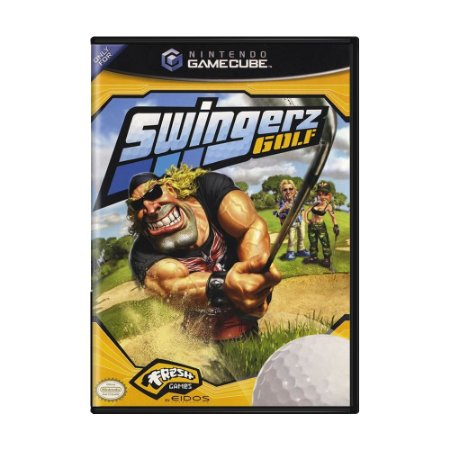 Jogo Swingerz Golf - GameCube