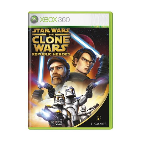 Jogo Star Wars: The Clone Wars Republic Heroes - Xbox 360