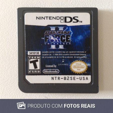 Jogo Star Wars The Force Unleashed II - DS