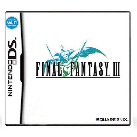 Jogo Final Fantasy III - DS