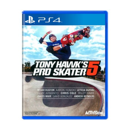 Jogo Tony Hawk's Pro Skater 5 - PS4
