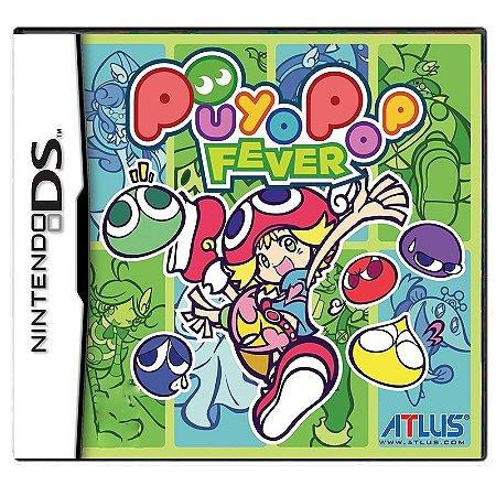 Jogo Puyo Pop Fever - DS
