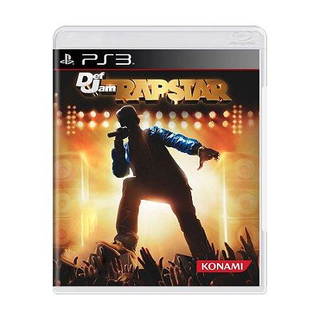 Jogo Def Jam Rapstar - PS3