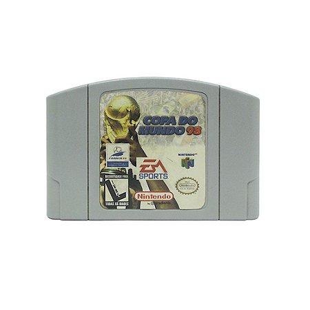 Jogo Copa do Mundo 98 - N64