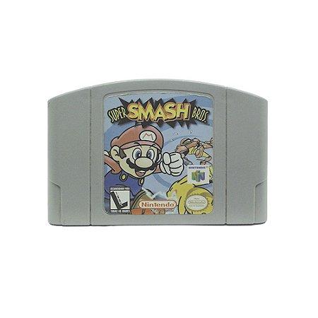 Jogo Super Smash Bros. - N64