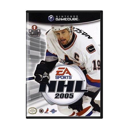 Jogo NHL 2005 - GameCube