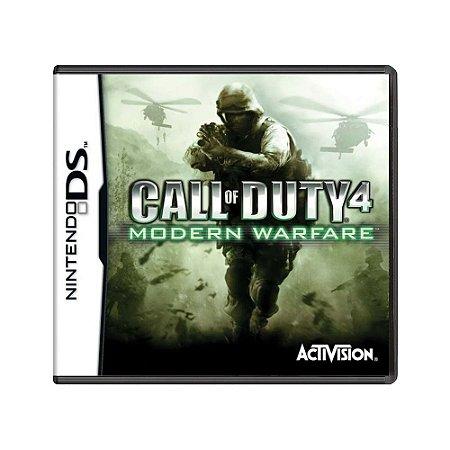 Jogo Call of Duty 4: Modern Warfare - DS
