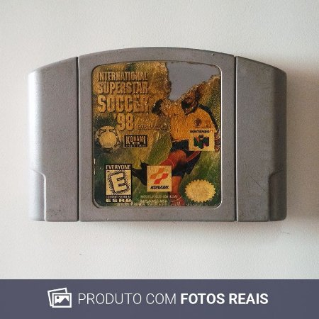 Jogo International Superstar Soccer '98 - N64