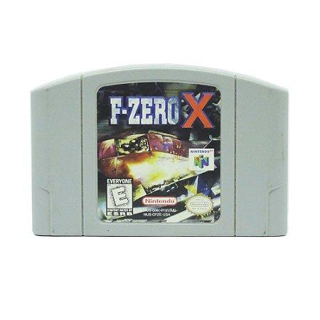 Jogo F-Zero X - N64