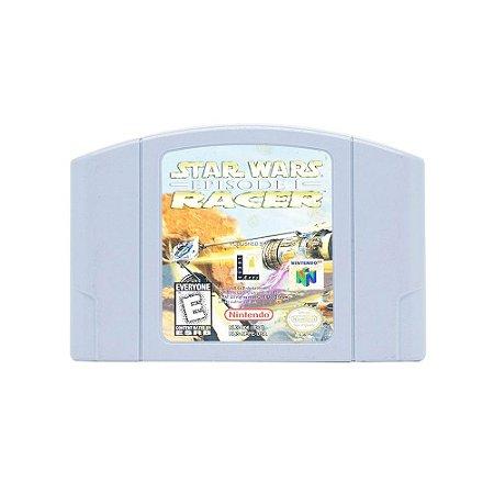 Jogo Star Wars: Episode 1 Racer - N64