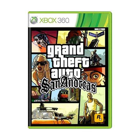 Jogo Grand Theft Auto: San Andreas (GTA) - Xbox 360