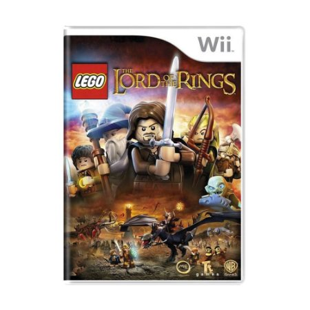 Jogo LEGO The Lord of the Rings - Wii