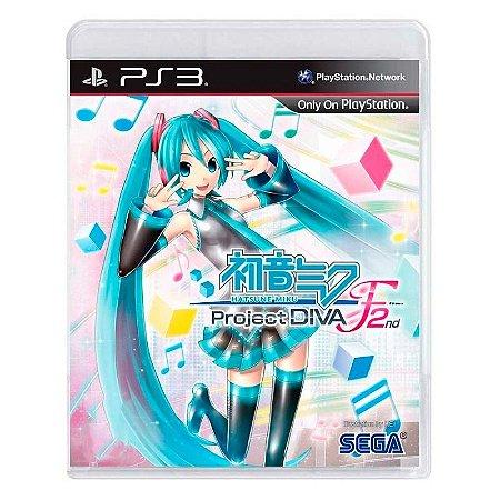 Jogo Hatsune Miku: Project DIVA F 2nd - PS3