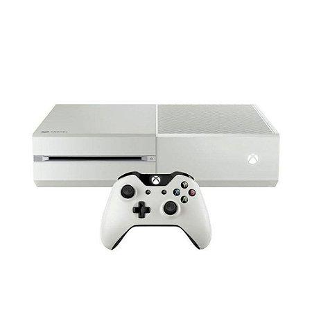 Console Xbox One FAT Branco 500GB (Edição Halo: The Master Chief Collection) - Microsoft