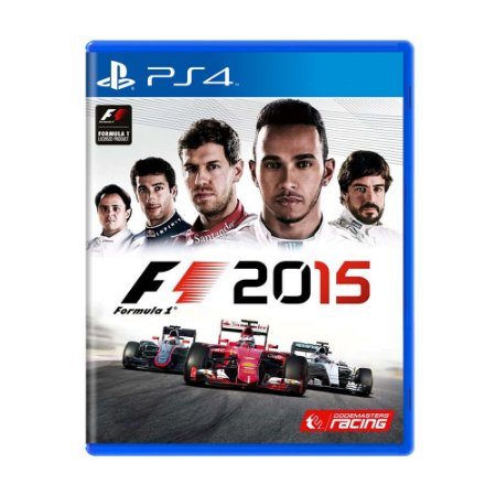 Jogo Formula 1 2015 - PS4