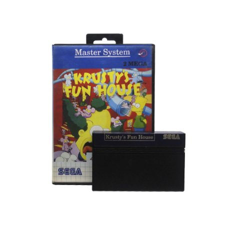 Jogo Krusty's Fun House - Master System