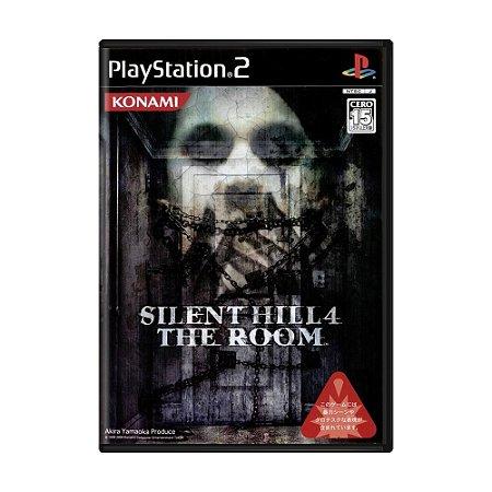 Jogo Silent Hill 4: The Room - PS2 (Japonês)