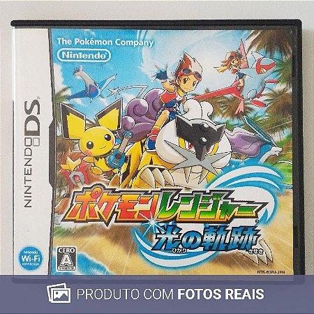 Jogo Pokémon Ranger: Guardian Signs [Japonês] - DS