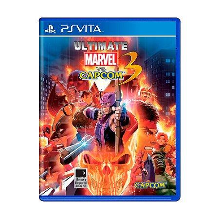 Jogo Ultimate Marvel Vs. Capcom 3 - PS Vita