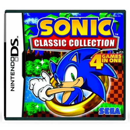 Jogo Sonic Classic Collection - DS