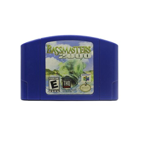 Jogo Bassmasters 2000 - N64