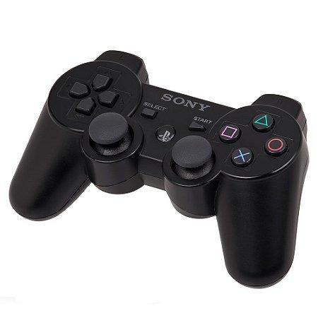 Controle Sony Dualshock 3 Preto - PS3