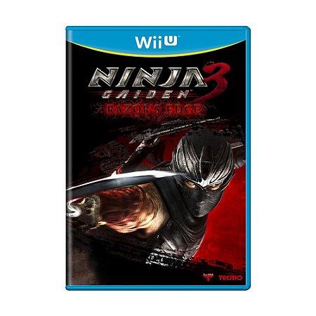 Jogo Ninja Gaiden 3: Razor's Edge - Wii U