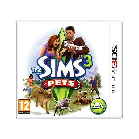 Jogo The Sims 3: Pets - 3DS (Europeu)