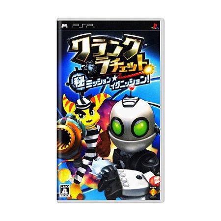 Jogo Clank and Ratchet: Maru Hi Mission - Ignition - PSP