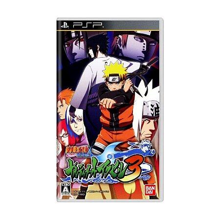 Jogo Naruto Shippuden: Narutimate Accel 3 - PSP