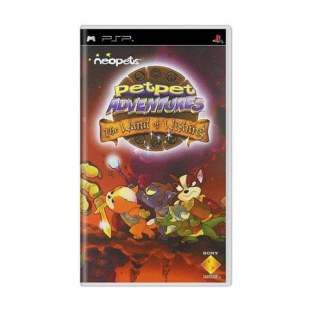Jogo Neopets: Petpet Adventures - The Wand of Wishing - PSP