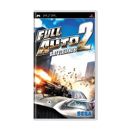 Jogo Full Auto 2: Battlelines - PSP
