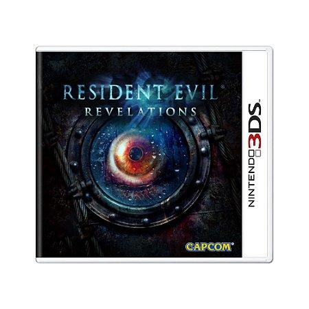 Jogo Resident Evil Revelations - 3DS