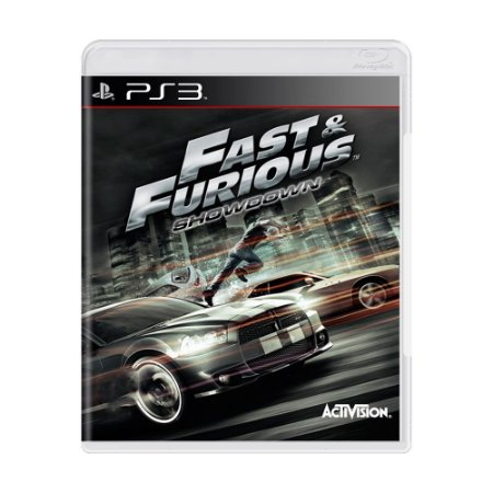 Jogo Fast & Furious: Showdown - PS3