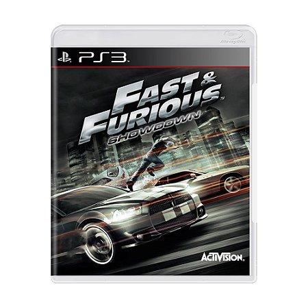 Jogo Fast & Furious: Showdown - PS3