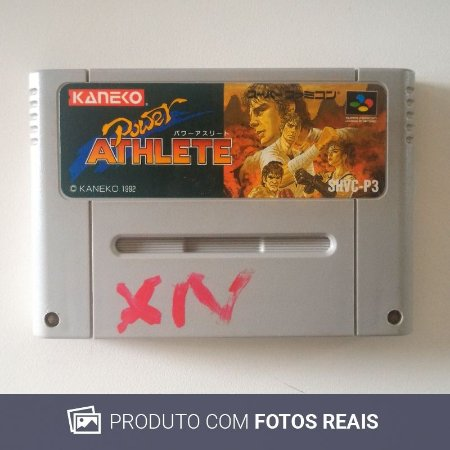 Jogo Power Atlete - Super Famicom
