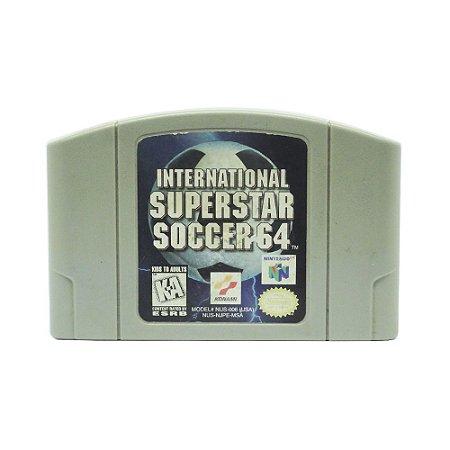 Jogo International Superstar Soccer 64 - N64