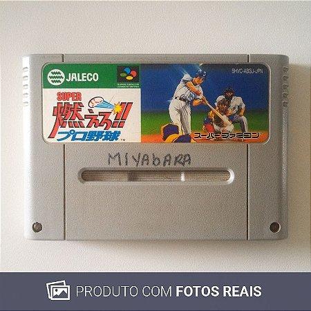 Jogo Super Moero!! Pro Yakyuu - Super Famicom