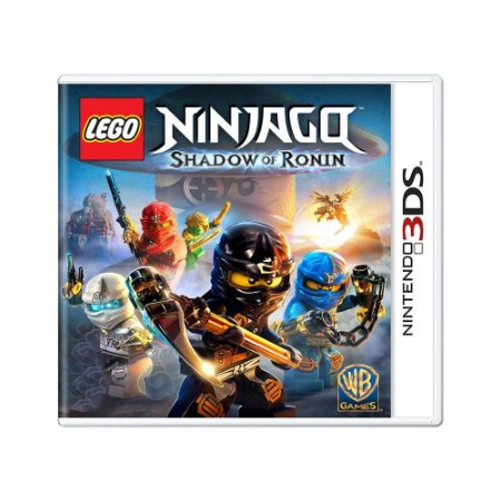 Jogo LEGO Ninjago: Shadow of Ronin - 3DS
