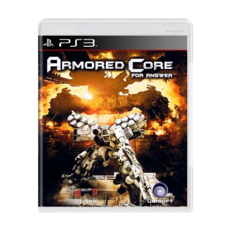Jogo Armored Core For Answer - PS3