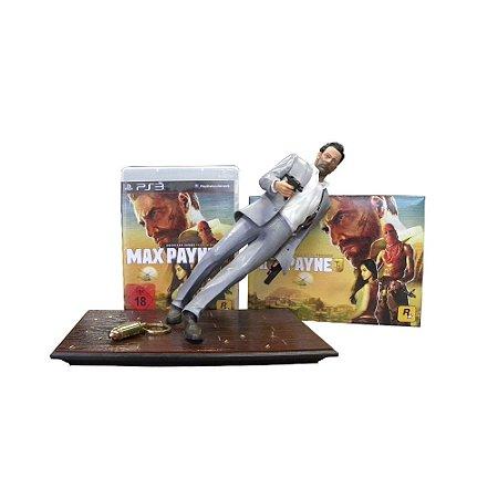 Jogo Max Payne 3 (Edição de Colecionador) - PS3