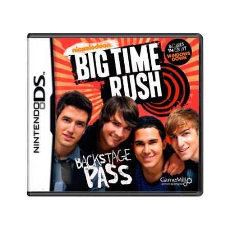 Jogo Big Time Rush - DS